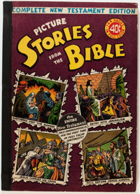 Picture Stories from the Bible Complete New Testament Edition (EC, 1945) Condition: FN/VF