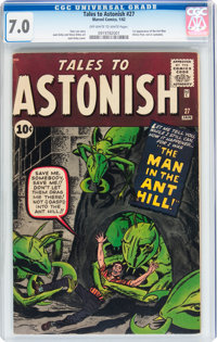 Tales to Astonish #27 (Marvel, 1962) CGC FN/VF 7.0 Off-white to white pages