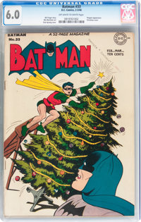 Batman #33 (DC, 1946) CGC FN 6.0 Off-white to white pages