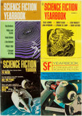 Books:Science Fiction & Fantasy, [Pulps]. Four Issues of Science Fiction Yearbook. 1967-1971. Original printed wrappers. Rubbing, toning and edgewear... (Total: 4 Items)