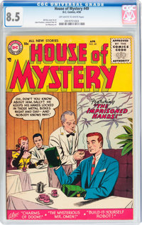 House of Mystery #49 (DC, 1956) CGC VF+ 8.5 Off-white to white pages