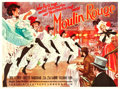 "Movie Posters:Drama, Moulin Rouge (Deutsche London Film, 1953). German A0 (34.5"" X45.75"").. ..."