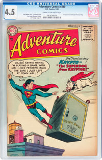 Adventure Comics #210 (DC, 1955) CGC VG+ 4.5 Cream to off-white pages