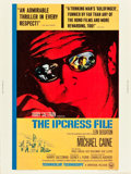 """Movie Posters:Thriller, The Ipcress File (Universal, 1965). Poster (30"""" X 40"""").. ..."""