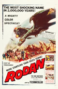 "Movie Posters:Science Fiction, Rodan! The Flying Monster (Toho/RKO, 1957). One Sheet (27"" X 41"")....."