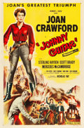 """Movie Posters:Western, Johnny Guitar (Republic, 1954). One Sheet (27"""" X 41"""").. ..."""