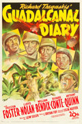 """Movie Posters:War, Guadalcanal Diary (20th Century Fox, 1943). One Sheet (27"""" X 41"""")....."""