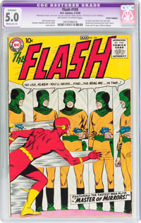 The Flash #105 (DC, 1959) CGC Apparent VG/FN 5.0 Moderate (A) Off-white to white pages
