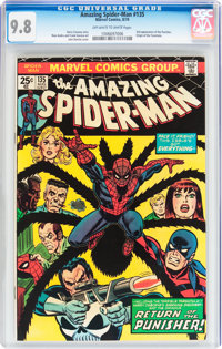 The Amazing Spider-Man #135 (Marvel, 1974) CGC NM/MT 9.8 Off-white to white pages