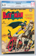 Golden Age (1938-1955):Superhero, Batman #24 (DC, 1944) CGC FN+ 6.5 Off-white to white pages....