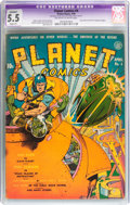 Golden Age (1938-1955):Superhero, Planet Comics #4 (Fiction House, 1940) CGC Apparent FN- 5.5 Slight (P) Off-white to white pages....