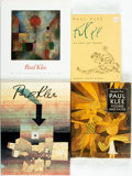 Books:Art & Architecture, [Paul Klee] Set of Four Art Books. [Various publishers, various dates. Publisher's bindings with original dust jackets. Mild... (Total: 4 Items)