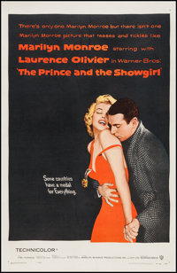"""The Prince and the Showgirl (Warner Brothers, 1957). One Sheet (27"""" X 41""""). Romance"""
