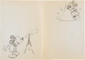 Animation Art:Production Drawing, Mickey Mouse and Friends Consumer Product Original Art Group(Walt Disney, 1980-90).... (Total: 6 Original Art)