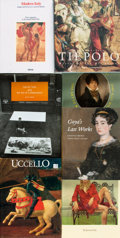 Books:Art & Architecture, [Art]. Group of Seven Books about Various Artists. Various publishers and dates. Quartos and folios. Publisher's cloth and o... (Total: 7 Items)
