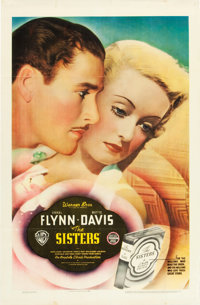 """The Sisters (Warner Brothers, 1938). One Sheet (27"""" X 41"""")"""