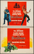 "Movie Posters:Adventure, The Buccaneer (Paramount, 1958). Half Sheets (2) (22"" X 28"") StylesA & B. Adventure.. ... (Total: 2 Items)"