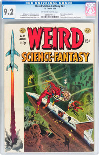 Weird Science-Fantasy #23 (EC, 1954) CGC NM- 9.2 Off-white to white pages