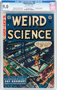 Weird Science #20 (EC, 1953) CGC VF/NM 9.0 Off-white to white pages