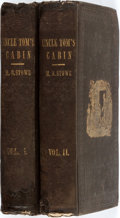 Books:Literature Pre-1900, Harriet Beecher Stowe. Uncle Tom's Cabin. Boston: John P. Jewett, 1852. Eighth printing. Two octavo volumes. [ii... (Total: 2 Items)
