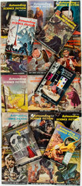 Books:Science Fiction & Fantasy, [Pulps]. Twenty Issues of Astounding Science Fact and Fiction. Street & Smith, 1956-1960. Octavos. Original printed ... (Total: 20 Items)
