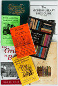 Books:Books about Books, [Books about Books]. Group of Eight Books about Books. Various publishers and dates. Original bindings and dust jackets, if ... (Total: 8 Items)