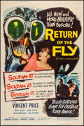 "Movie Posters:Science Fiction, Return of the Fly & Other Lot (20th Century Fox, 1959). Posters(2) (40"" X 60""). Science Fiction.. ... (Total: 2 Items)"