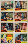 "Movie Posters:Science Fiction, Tobor the Great (Republic, 1954). Lobby Card Set of 8 (11"" X 14"").Science Fiction.. ... (Total: 8 Items)"