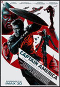 "Movie Posters:Action, Captain America: The Winter Soldier (Walt Disney Pictures, 2014). IMAX Poster (13"" X 19""). Action.. ..."