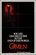 "Movie Posters:Horror, The Omen & Other Lot (20th Century Fox, 1976). One Sheets (2) (27"" X 41"") Advance Style A & Regular. Horror.. ... (Total: 2 Items)"