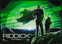 "Riddick (Universal, 2013). IMAX Poster (19.5"" X 13.5""). Science Fiction"