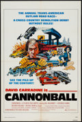 """Movie Posters:Action, Cannonball (New World, 1976). One Sheet (27"""" X 41""""). Action.. ..."""