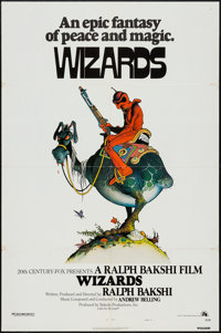 """Wizards (20th Century Fox, 1977). One Sheet (27"""" X 41"""") Style A. Animation"""