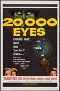 """Movie Posters:Crime, 20,000 Eyes (20th Century Fox, 1961). One Sheet (27"""" X 41""""). Crime.. ..."""