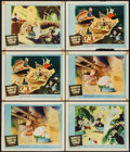 "Movie Posters:Animation, Mr. Bug Goes to Town (NTA, R-1959). Lobby Cards (6) (11"" X 14"")Reissue Title: Hoppity Goes to Town. Animation.. ... (Total:6 Items)"