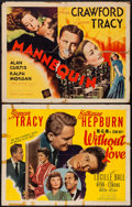 "Movie Posters:Romance, Without Love & Other Lot (MGM, 1945). Half Sheets (2) (22"" X 28"") Style A & Regular. Romance.. ... (Total: 2 Items)"