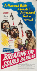 "Movie Posters:Action, Breaking the Sound Barrier (United Artists, 1952). Three Sheet (41""X 79"") & Lobby Cards (2) (11"" X 14""). Action.. ... (Total: 3Items)"