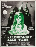 """Movie Posters:Horror, The House that Dripped Blood (Cinerama Releasing, 1971). French Grande (46.5"""" X 62.5""""). Horror.. ..."""
