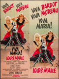 "Movie Posters:Adventure, Viva Maria! (Les Artistes Associes, 1965). French Grande (46"" X62""). Adventure.. ..."