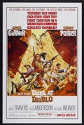 """Movie Posters:Western, Duel at Diablo (United Artists, 1966). One Sheet (27"""" X 41"""").Western starring James Garner and Sidney Poitier. Very Fine+ w..."""