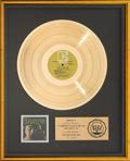 Music Memorabilia:Awards, The Doors RIAA Gold Record Award (Elektra EKS-74007, 1967)....