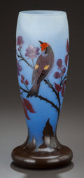 Art Glass:Other , NANCEA FRENCH OVERLAY GLASS VASE, circa 1910. Marks: NANCEA. 12 inches high (30.5 cm). ...