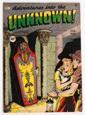 Golden Age (1938-1955):Horror, Adventures Into The Unknown #3 (ACG, 1949) Condition: VG/FN....