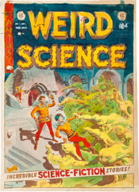 EC Weird Science #22 Cover Silverprint Proof (EC, 1953)