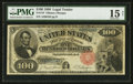 Large Size:Legal Tender Notes, Fr. 179 $100 1880 Legal Tender PMG Choice Fine 15 Net.. ...