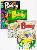 Silver Age (1956-1969):Humor, Bunny #2-21 File Copy Group (Harvey, 1966-76) Condition: Average NM-.... (Total: 63 Items)
