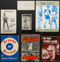 Boxing Collectibles:Autographs, Boxing Greats Signed Books and Publications Lot of 7....