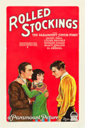 "Movie Posters:Drama, Rolled Stockings (Paramount, 1927). One Sheet (27"" X 41"") Style B....."