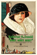 "Movie Posters:Drama, Money, Money, Money (First National, 1923). One Sheet (27.5"" X41"").. ..."