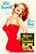 "Movie Posters:Film Noir, Affair in Trinidad (Columbia, 1952). One Sheet (27.5"" X 41"") StyleA.. ..."